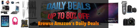 Amazon Daily Deals and Goldbox Specials